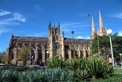 哥特式澳洲的大教堂 库存图片