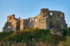 哥特式王侯的城堡在谢维日,波兰 免版税图库摄影