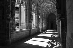 哥特式的修道院 免版税库存照片