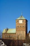 哥特式的城堡 免版税图库摄影