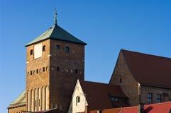 哥特式的城堡 免版税库存图片