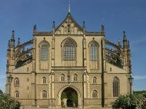 哥特式的大教堂 库存照片