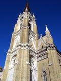 哥特式的大教堂 图库摄影