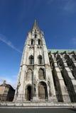 哥特式的大教堂 免版税图库摄影