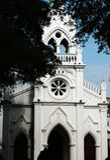 哥特式的教会 库存图片
