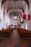 哥特式的教堂 库存图片