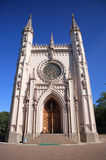 哥特式的教堂 图库摄影