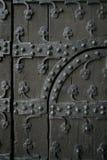 哥特式的门 免版税库存图片