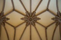 哥特式穹顶 库存图片