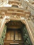 哥特式结构上详细资料,中央寺院 库存图片