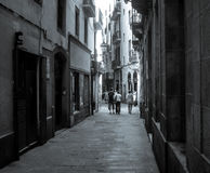 哥特式街道 库存图片