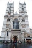 哥特式西敏寺教会在伦敦,英国 免版税图库摄影
