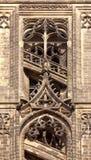 哥特式迈森大教堂的细节 免版税图库摄影