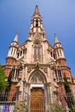 哥特式1个的教会 库存图片