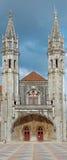 哥特式manuelin纪念碑样式 免版税库存图片