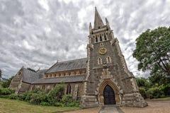哥特式Rading英国基督的教会 免版税库存照片
