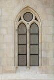 哥特式window1 免版税图库摄影