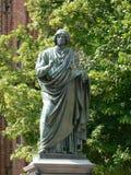 哥白尼・尼古拉斯雕象 免版税库存照片