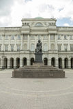 哥白尼雕象,华沙 免版税库存照片