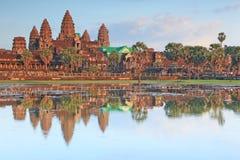 吴哥窟在柬埔寨 图库摄影