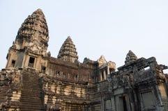 吴哥窟在柬埔寨 免版税库存照片