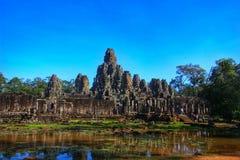 吴哥窟寺庙-暹粒,柬埔寨 图库摄影