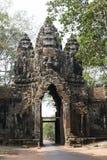吴哥窟废墟和寺庙  柬埔寨收割siem 免版税图库摄影