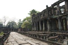 吴哥窟废墟和寺庙  柬埔寨收割siem 免版税库存图片