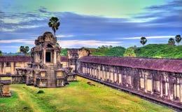吴哥窟的,柬埔寨一千个上帝图书馆 免版税库存照片