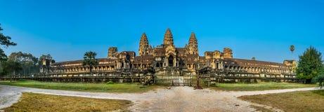 吴哥窟,佛教寺庙复合体在柬埔寨 图库摄影