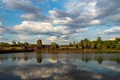 吴哥窟,暹粒柬埔寨2015年5月 免版税库存图片