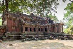吴哥窟,高棉寺庙复合体,亚洲 柬埔寨收割siem 库存照片