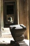 吴哥窟,吴哥石柱子寺庙,柬埔寨 库存照片