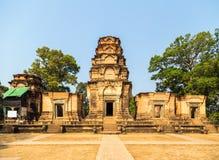吴哥窟, Prasat Kravan,亚洲 柬埔寨收割siem 免版税图库摄影