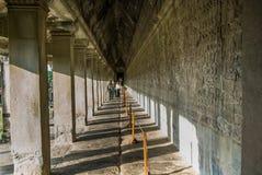吴哥窟, Siemreap,柬埔寨 库存图片