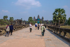 吴哥窟, Siemreap,柬埔寨 免版税图库摄影