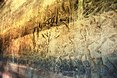 吴哥窟-世界的7奇迹之一,柬埔寨 库存图片