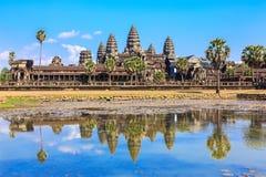吴哥窟 柬埔寨收割siem 免版税图库摄影