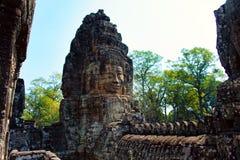 吴哥窟 柬埔寨 古老结构 库存图片
