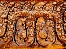 吴哥窟- Banteay Srei寺庙 库存照片
