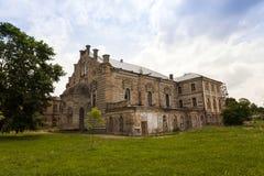 哥罗德诺犹太教堂,白俄罗斯 免版税库存照片