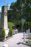 哥萨克坟园, Peggetz,利恩茨,奥地利 免版税图库摄影