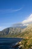 哥顿的海湾,南非(垂直) 库存图片