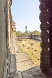 吴哥, Siem Riep,柬埔寨看法  免版税库存图片