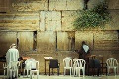 哭墙 耶路撒冷 免版税图库摄影