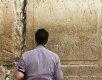 哭墙(西部墙壁) 库存图片