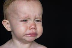 哭泣的小孩 免版税图库摄影