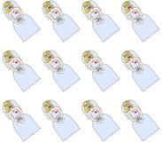 哭泣的新娘 免版税库存图片