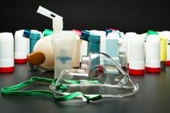 哮喘吸入器 图库摄影