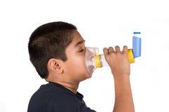 哮喘 免版税库存照片